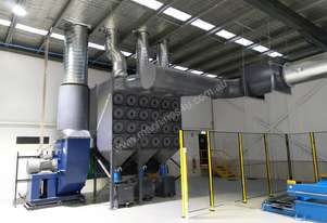 Large Dust Extraction System, Reverse Pulse with 55kw Motor and VSD - Unused