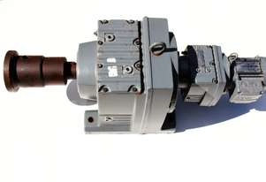 .12 KW Sew-Eurodrive R97 Helical Gearmotor .37 RPM Ratio: 3730:1 Weight : 130 KG