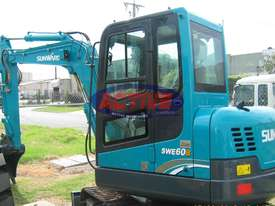 Active Machinery  Sunward Excavator � SWE60B - picture3' - Click to enlarge