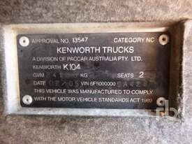 KENWORTH K104 Prime Mover (T/A) - picture5' - Click to enlarge