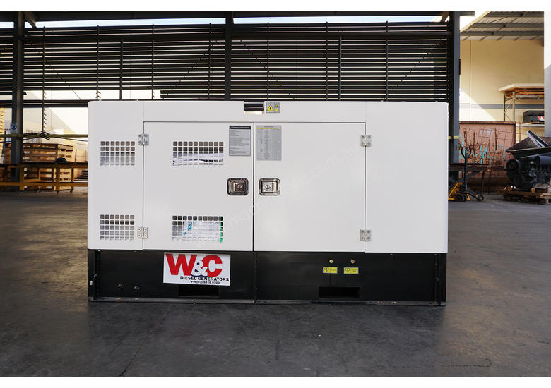 14.5kVA, 3 Phase, Standby Diesel Generator with Kubota Engine in Canopy