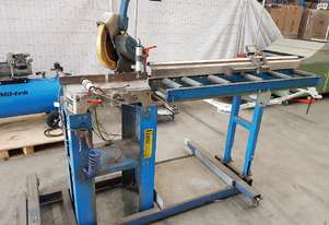 LUNA MITRE SAW 240v - EOFY SALE TO 26/6 $2,500. DUST EXTRACTORS. DOUBLE MITRE SAWS * SOLD *