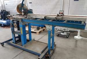 LUNA MITRE SAW 240v. DUST EXTRACTORS. DOUBLE MITRE SAWS - ELUMATEC/PERTICI * SOLD *