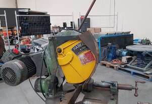 HABERLE 350mm 2-Speed ALUM/METAL Germany. MACC 240v COLD SAW Italy