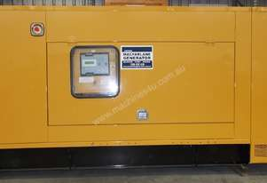 125kVA Perkins Used Enclosed Generator