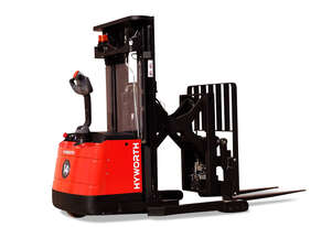 Hyworth 1.4T Walkie Reach Stacker Compact Forklift for HIRE