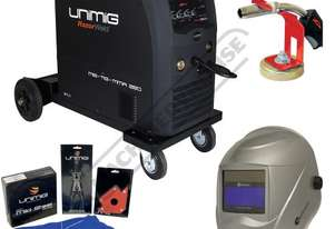 COMPACT 250K INVERTER Multi-Function Inverter Mig Welder Package Deal 10-250 Amps #KUMJR250K-SG Incl