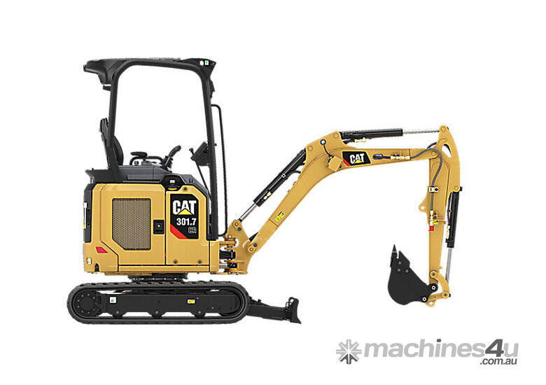 CAT 301.7 CR MINI HYDRAULIC EXCAVATOR LOW FINANCE RATES AVAILABLE FROM YOUR LOCAL CAT DEALER