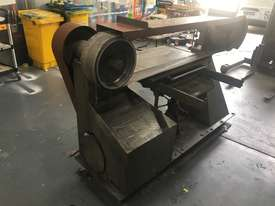 Large Belt Linisher machine with sliding table - picture2' - Click to enlarge