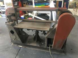 Large Belt Linisher machine with sliding table - picture4' - Click to enlarge