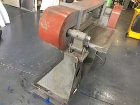 Large Belt Linisher machine with sliding table - picture5' - Click to enlarge