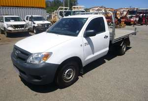 2008 Toyota Hilux (150 Series) 4x2 Single Cab Tray Back Utility