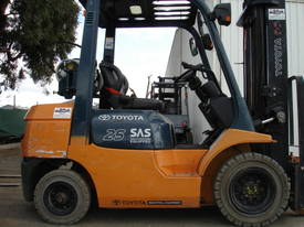 Toyota 42-7FG25 7 SERIES FORKLIFT GREAT MODEL  2.5 TON - picture0' - Click to enlarge