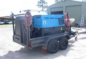 Trailer mounted welder generator