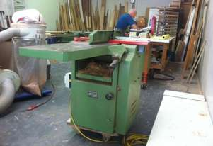 PLANER THICKNESSER +MORTISER attachement  x3 tangsteen cutters300mm wide excellent condition