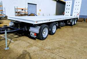 NEW 2020 FWR 4 Axle Dog Trailer, FD4