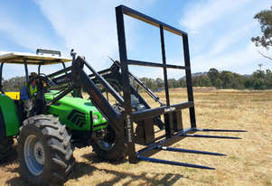 2020 FARMTECH FTM-4TBH LOW BACK BALE FORKS W/O TINES (1.2M HIGH)