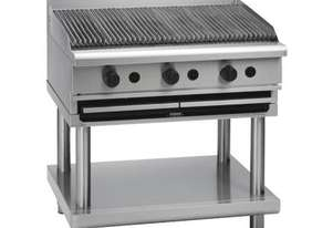 WALDORF 800 SERIES CH8900G-LS - 900MM GAS CHARGRILL LEG STAND