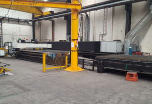 Large Bristow Format Laser Cutting System
