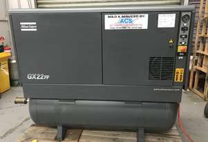 Quality 22KW Rotary Screw Compressor Package with Tank & Dryer.