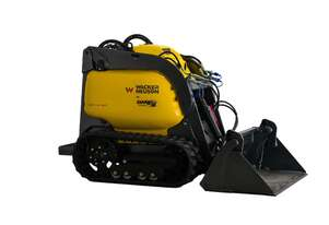 New Wacker Neuson Dingo Tracked Mini Loader SM440-31T Diesel, Inc 4-1 Bucket