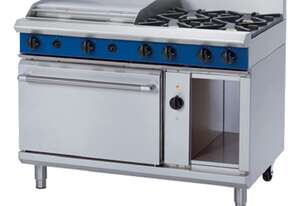 Blue Seal Evolution Series GE58B - 1200mm Gas Range Electric Convection Oven