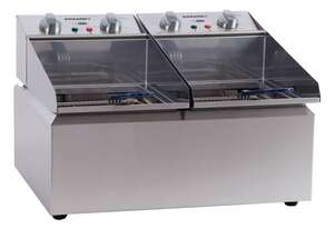 Roband FR28 Countertop Double Pan Fryer 2x8L