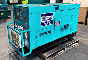 22kVA Used Denyo Enclosed Generator Set