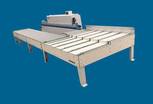 Premilling, corner rounding and return Conveyor. Fast, heavy duty from KDT