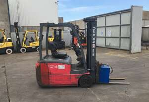 1.8T Battery Electric 3 Wheel Forklift