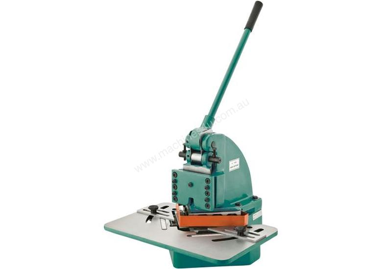 152mm x 152mm x 1.6mm Manual Hand Notcher