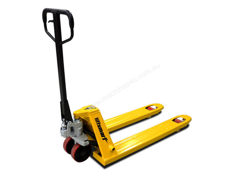 Euro Narrow Hand Pallet Jack/Truck 540mm Wide (Poly Wheel)