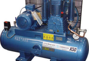 Pilot K50, 32amp 3phase Electric Air Compressor, Brand New.