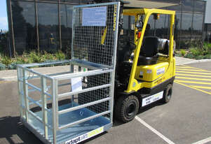 East West Engineering Forklift Safety Cage Hire