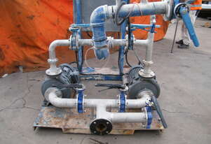 twin pump set   with  electricals