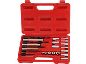 T&E TOOLS10 Piece Screw Extractor/Drill & GuideSet