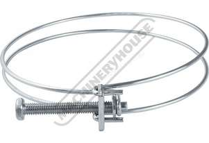 DCC-100 Dust Hose Clamp Ø100mm (4