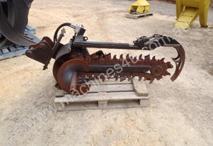 Digga Skidsteer Trencher Attachment