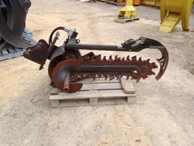Skidsteer Trencher Attachment Digga  - picture0' - Click to enlarge