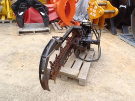 Skidsteer Trencher Attachment Digga  - picture2' - Click to enlarge