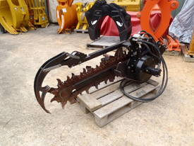 Skidsteer Trencher Attachment Digga  - picture3' - Click to enlarge