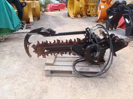 Skidsteer Trencher Attachment Digga  - picture4' - Click to enlarge