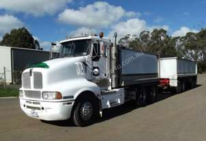 2002 Kenworth T604 tipper & quad dog