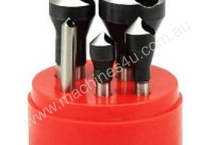 HSS 90 Degree Countersink Deburring 5pcs Set