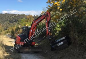Hydraulic Powered Flail Mulcher Attachment