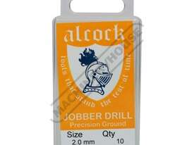 D8152 HSS Jobber Drill Pack - 10 Piece Ø2.0mm Precision Ground Flute & Split Point - picture0' - Click to enlarge