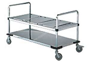 Rieber TH-TA-3 - Trolley For 3 x Thermoports