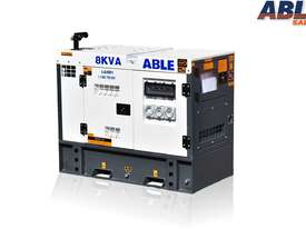 8 kVA Diesel Genset 240V - picture1' - Click to enlarge