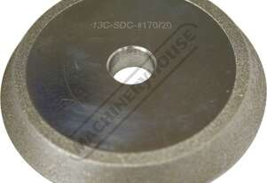D1116 13D-SDC Grinding Wheel For Grinding 3-13mm Carbide Drill Bits Suits Suits PP-13C Drill Sharpen