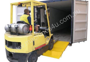 Forklift Container Ramp 8000kg SWL